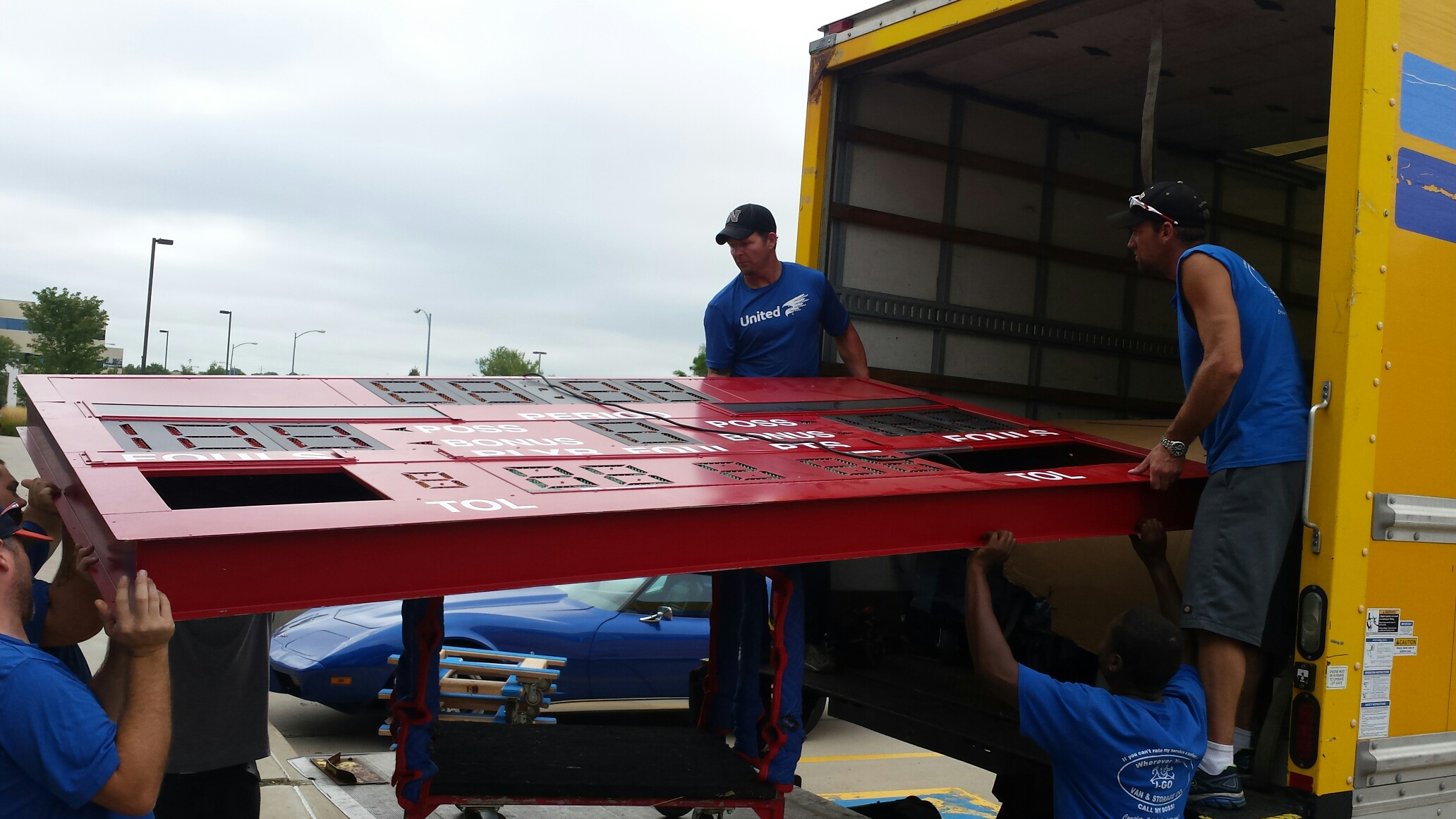 movers packing scoreboard