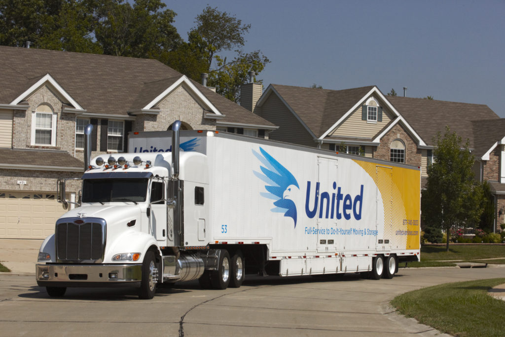 united van moving company in neighborhood