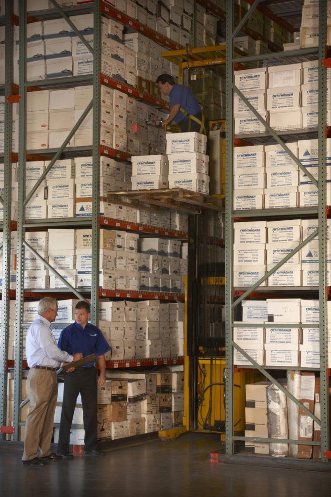 warehouse employees